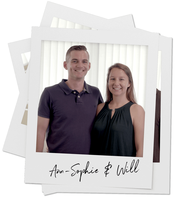 Ann-Sophie and Will
